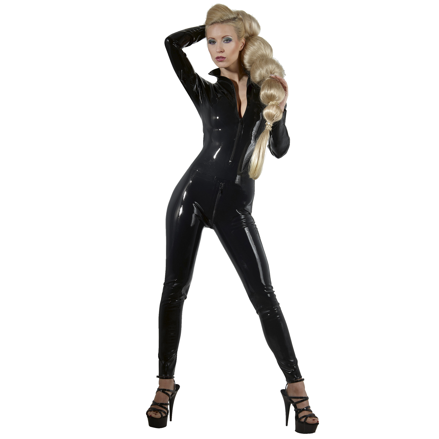 Late X Latex Catsuit med Långa Ärmar | Brands, Fetishkläder, Gummi- & Lackoutfits, Fetish Catsuits, Late X, Latexkläder, Latex | Intimast.se - Sexleksaker