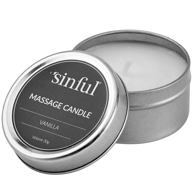 Sinful Vanilj Massageljus 30 g