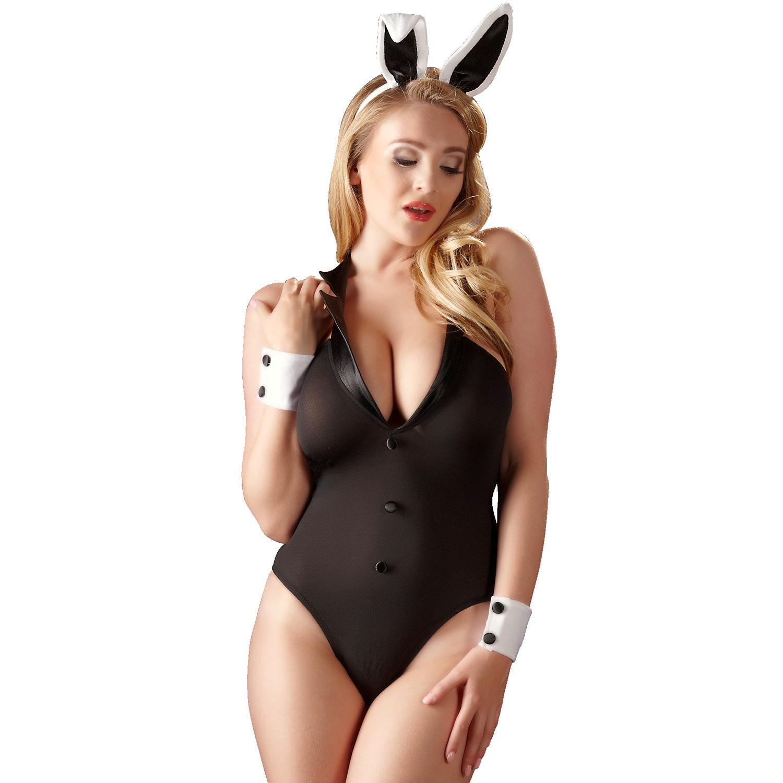 Cottelli Bunnysuit Kroppsstrumpa