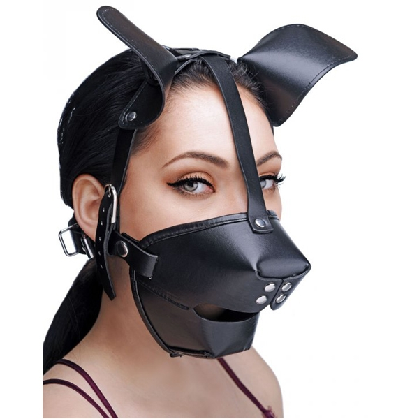 Master Series Pup Puppy Play Mask | Fetish, Brands, REA Fetish, Masker, Black Friday, Master Series, Ögonbindlar, Masker & Gags | Intimast.se - Sexleksaker