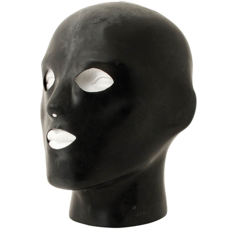 Heavy Rubber Anatomical Latex Mask | Brands, Fetishkläder, Masker, Gummi- & Lackoutfits, Mister B, Ögonbindlar, Masker & Gags, Latex | Intimast.se - Sexleksaker