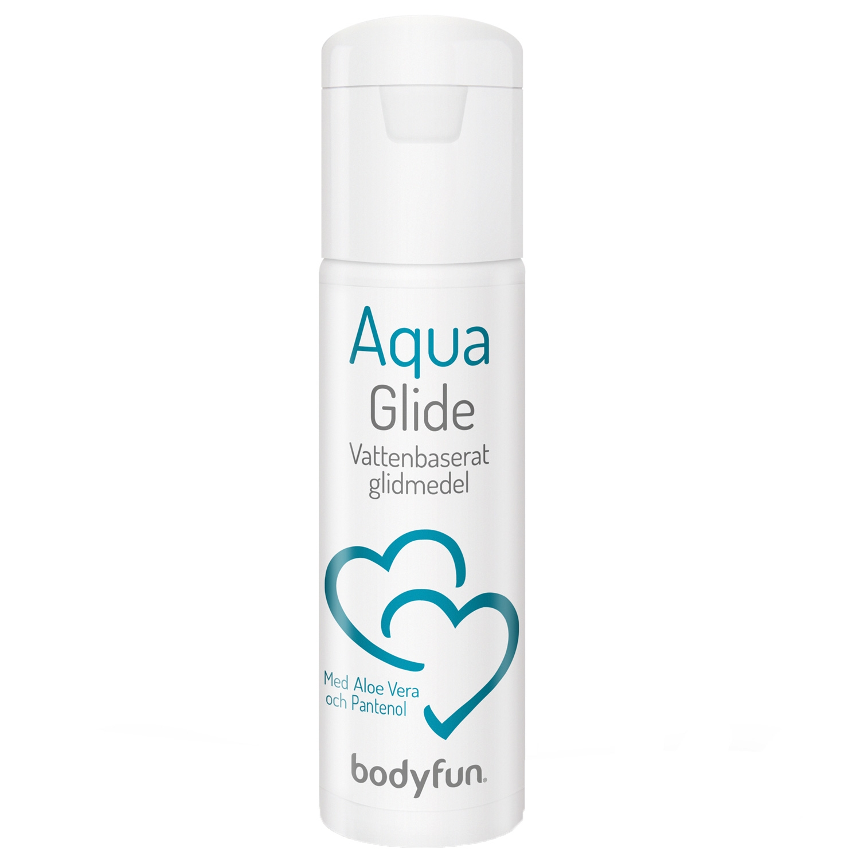 Bodyfun Aqua Glide Vattenbaserat Glidmedel 100 ml   Brands, Glidmedel, Vattenbaserade, Mixed, Bodyfun   Intimast.se - Sexleksaker