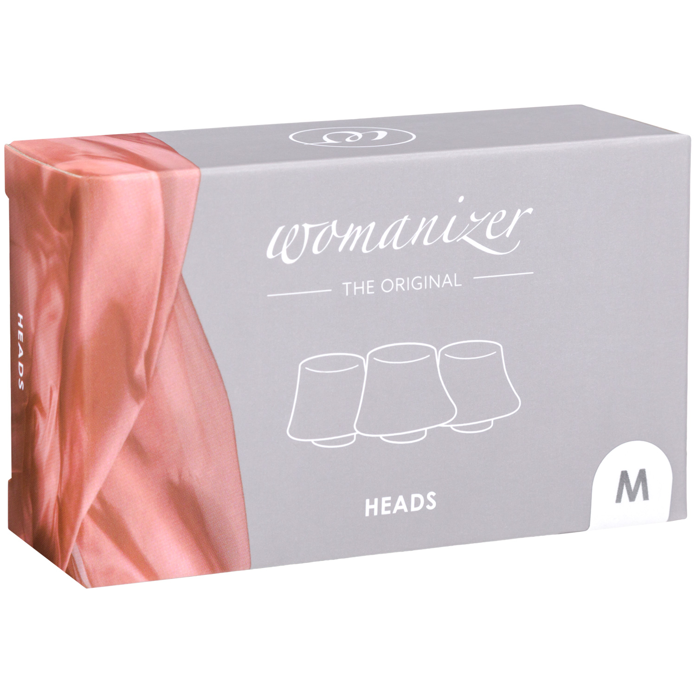 Womanizer Silikon Sughuvud 3-Pack Medium