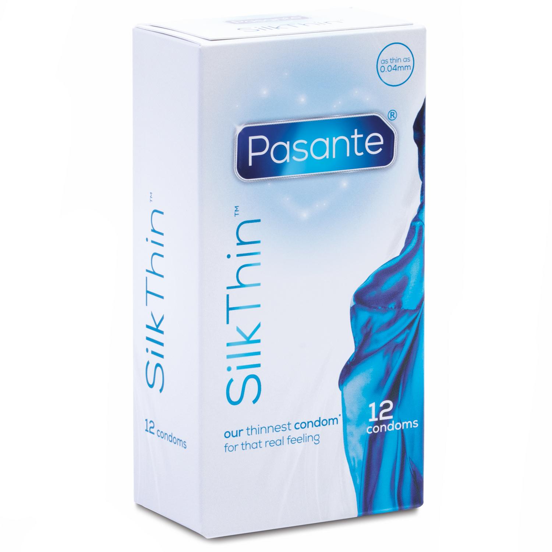 Pasante Silk Thin Kondomer 12 st | Brands, Pasante, Tillbehör, Kondomer, Specialkondomer, Tunna Kondomer | Intimast.se - Sexleksaker