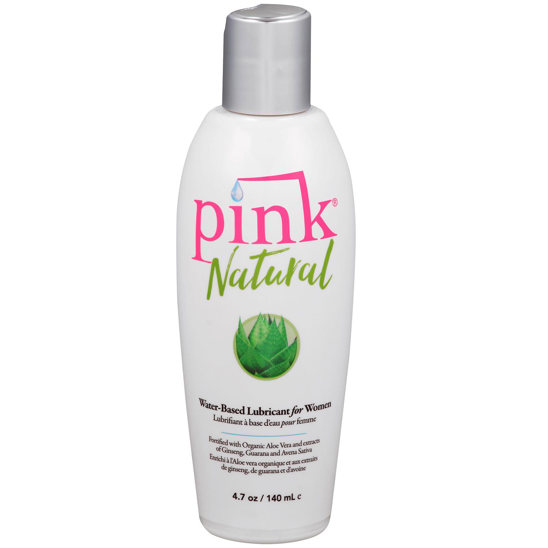 Pink Natural Vattenbaserat Glidmedel 140 ml | Brands, Glidmedel, Vattenbaserade, Pink | Intimast.se - Sexleksaker