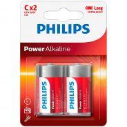 Philips LR14 C Alkaline Batterier 2 st