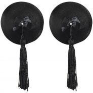 Bijoux Burlesque Pasties Läder Bröstsmycken