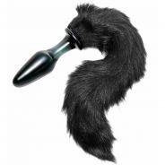 Tailz Midnight Fox Tail Glas Analplugg