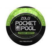 Zolo Pocket Pool Straight Shooter Onaniprodukt