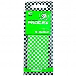 Protex Ribbed Räfflade Kondomer 10-pack