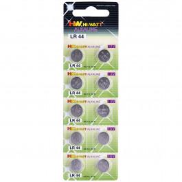Hi-Watt Alkaline Batterier AG13 LR44 10-pack