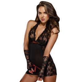 Dreamgirl Restrained Passion Chemise med Spets