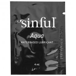 Sinful Aqua Vattenbaserat Glidmedel 4ml