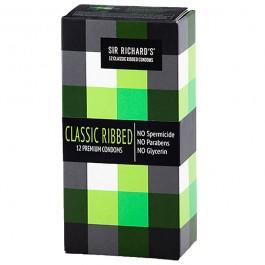Sir Richards Klassiska Räfflade Kondomer 12 st