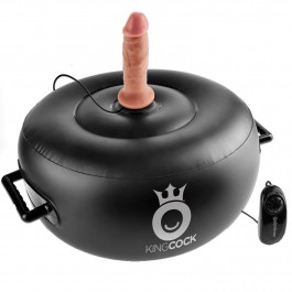 King Cock Vibrerande Uppblåsbar Hot Seat