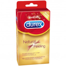Durex Natural Feeling Latexfria Kondomer 10 st