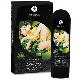Shunga Lotus Noir Stimulerande Gel 60 ml