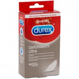 Durex Feel Ultra Thin Tunna Kondomer 10 st