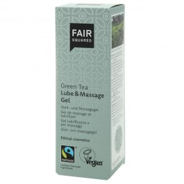 Fair Squared Vegansk Grönt Te Lube och Massage Gel 150 ml