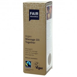 Fair Squared Vegansk Argan Massageolja 150 ml