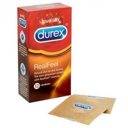 Durex RealFeel Latexfria Kondomer 12 st