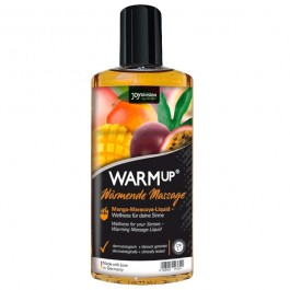 Joydivision WARMup Värmande Massageolja med Smak 150 ml