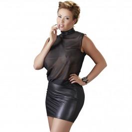 Cottelli Miniklänning i Mesh Plus Size