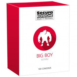 Secura Big Boy Kondomer 100 st
