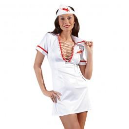 Cottelli Sjuksköterskedräkt med Snörning