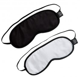 Fifty Shades of Grey Dubbelt Blindfold Set