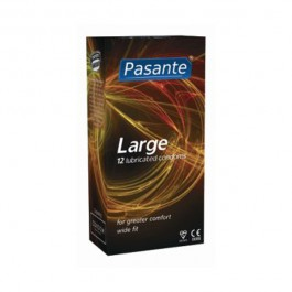 Pasante Large Kondomer 12-pack