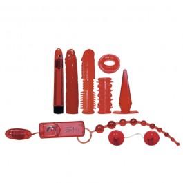 Red Roses Sexleksaks Startpaket 9-delar