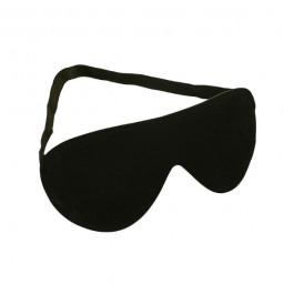 Svart Läder Blindfold