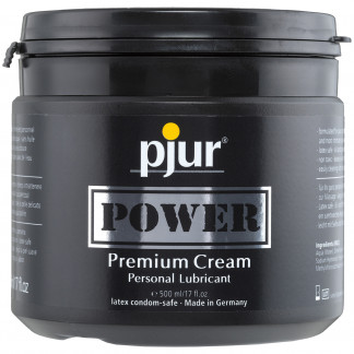 Pjur Power Kräm Glidmedel 500 ml