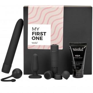 Sinful My First One Sexleksaksset för Nybörjare med A-Z Guide