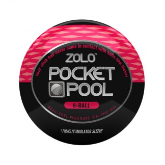 Zolo Pocket Pool 8-Ball Onani Handjob