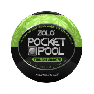 Zolo Pocket Pool Straight Shooter Onaniprodukt