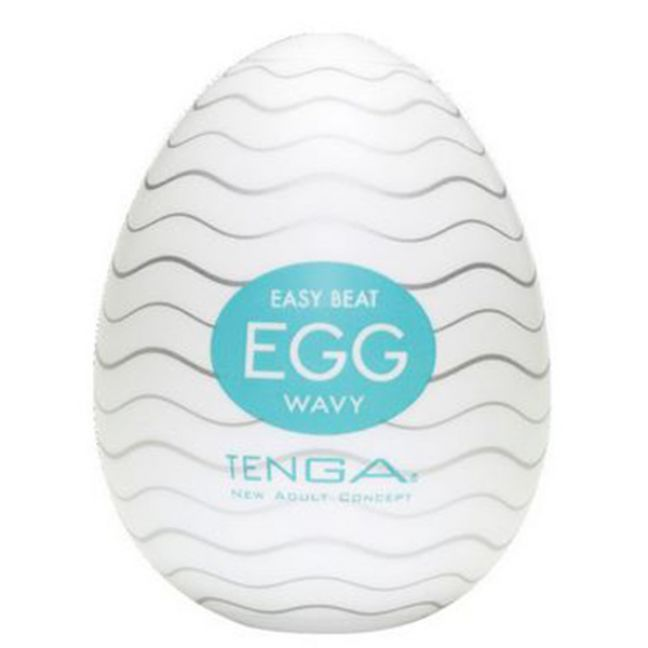 TENGA Egg Wavy Onani Handjob för Män