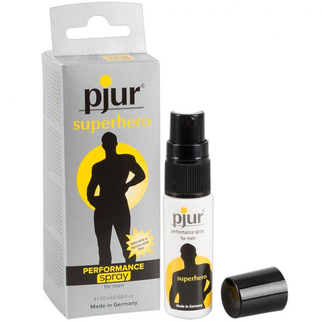 Pjur Superhero Performance Spray för Män