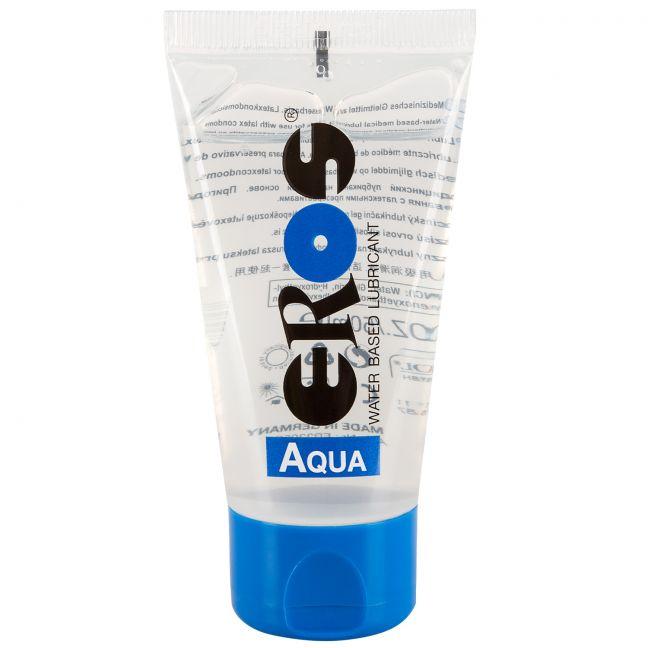 Eros Aqua Vattenbaserat Glidmedel 100 ml
