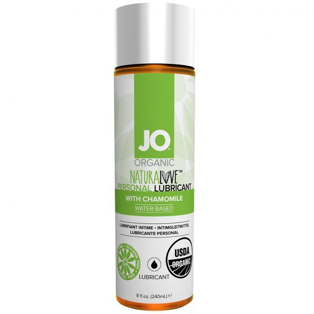 System JO Organic Ekologiskt Glidmedel 240 ml - TESTVINNARE