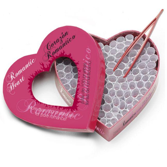 Romantic Heart Full of Foreplay Erotiskt Spel för Par