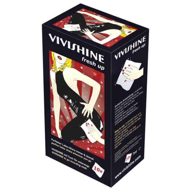 Vivishine Latex Fresh Up Servetter 10 st