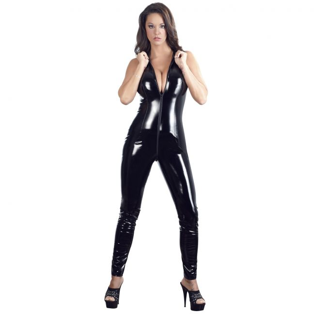 Black Level Jumpsuit med Krage