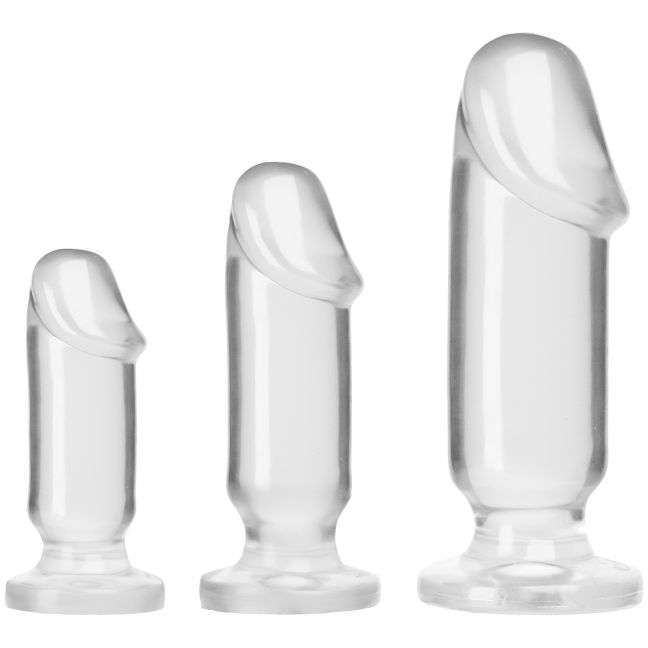 Doc Johnson Crystal Jellies Anal Starter Set
