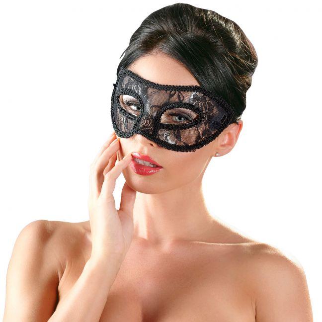 Cottelli Mask med Spets