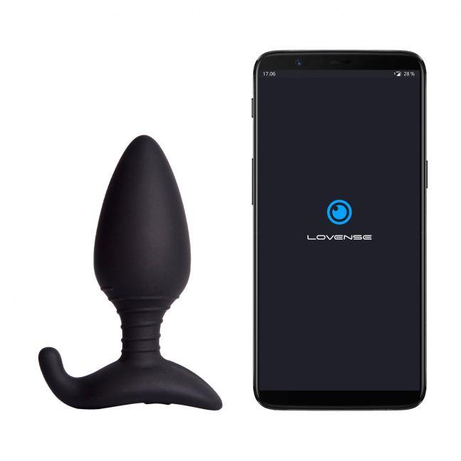 Lovense Hush Appstyrd Analplugg Large