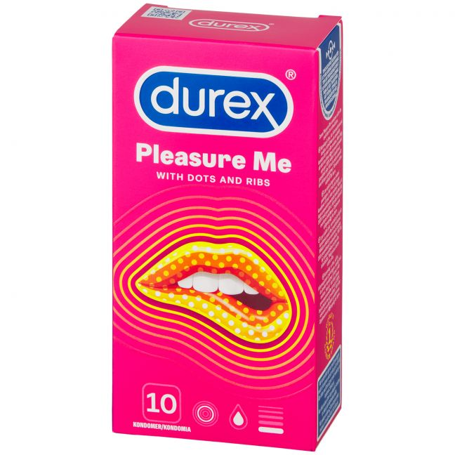 Durex Pleasure Me Kondomer 10 st