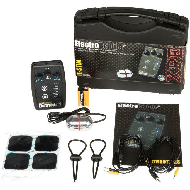 E-Stim ElectroPebble XPE Power Box Set