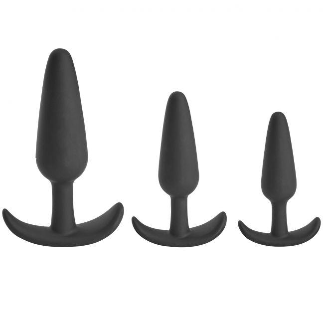 Sinful Sailor Triple Butt Plug Set